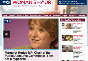 BBC Woman's Hour Screenshot