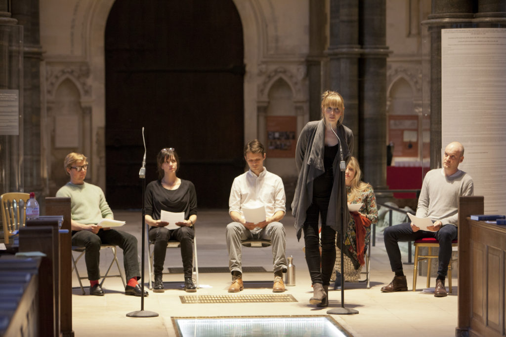 'The Syrian Monologues' at The Temple Church, London